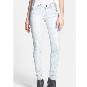 Urban Outfitters Articles of Society Mya size 28 Pinstripe Mid-Rise Skinny Jeans